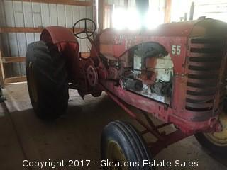 1957 Massey Harris 55 Tractor