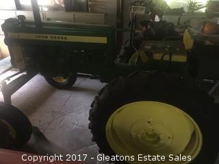 John Deere 420 High crop 1957 Tractor - Restored