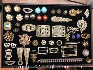 Lot Of Costume Jewelry Vintage