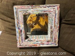 Custom Newspaper Magazine Framed Mirror