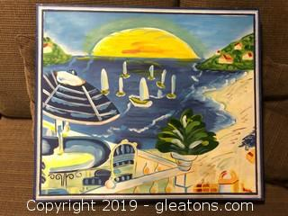 Original Ocean Canvas