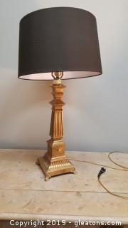 Vintage Gold Steel Lamp