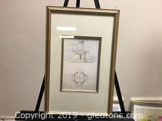 Framed Architecture Print