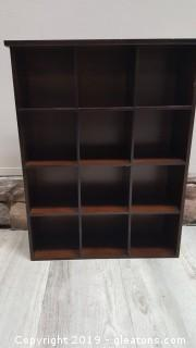 Solid Wood Wall Shadow Box/What Knot Shelf