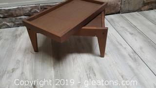 Mid Century Modern bed / lap tray or desk