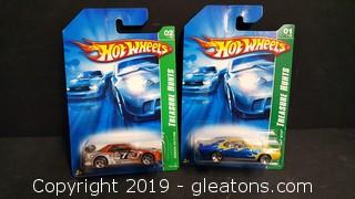 "Pr Of ""Treasure Hunt"" #1+2 Hot Wheels Collectibles"