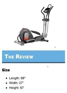 New in Box Proform Cardio Cross Trainer Elypitical Machine