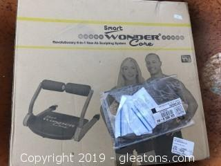 The Wonder Core Excerice Machine New in Box
