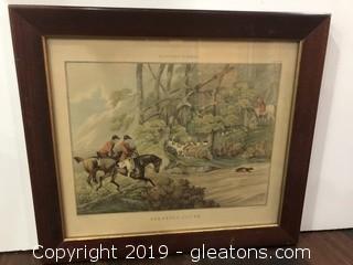 Vintage Hunting Print