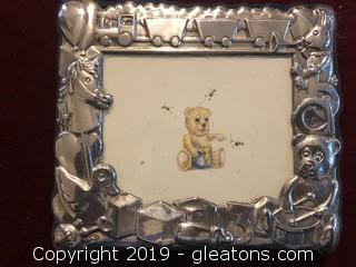 Carr Sterling Baby Picture Frame