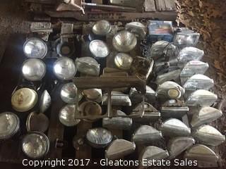 Pallet of headlights