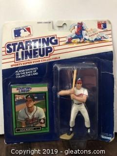 Dale Murphy Collectible Figure and Baseball Card