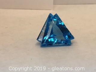 Stunning Large Blue Topaz Loose Stone