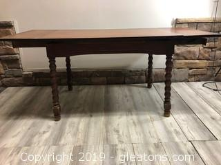 Charming Solid Wood Dining Table