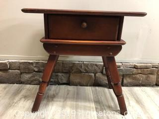 Charming Vintage Accent Table