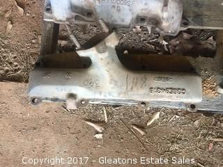 Ford 390 Left side Manifold