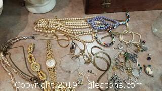 Lot Of Misc. Costume Jewelry