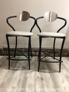 Modern Accent Chair, Pair