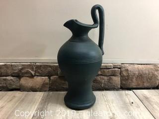 Large Terra Cotta Accent Vase