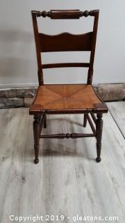 "Vintage ""Tell City Chair"" Pattern ""2270"" Mahogany"