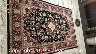 Hand Woven 6'x4' Oriental Well Made Like New Area Rug