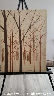 Linen Canvas Print By: Marvushka (Screen Print)