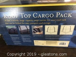 New in Box Roof Top Cargo Pack