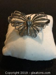 Victorian Filagree Butterfly 1