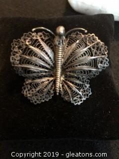 Victorian Filagree Butterfly B