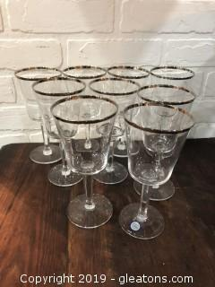 Vintage Never Used Lenox Water Glasses