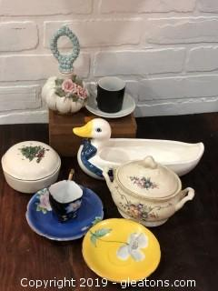 Lot of Misc Vintage Ceramics and China