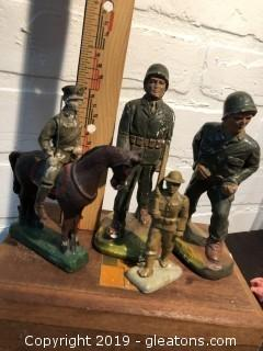 Antique Composite Soldiers