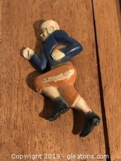 Antique Celluloid Football Pin
