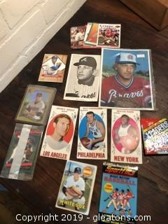 Lot of Misc Baseball and Football Cards