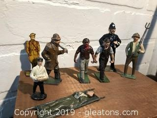 Lot of Misc Die Cast Figurines, Johillco Britians, etc