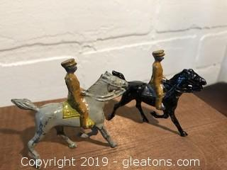 Britian Mounted Lead toy soldiers