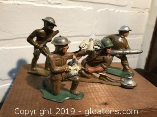 Manoil Barclay Vintage Lead Toy Soldiers