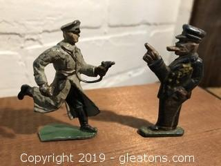 Antique Toy Lead Soldiers