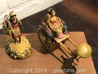 Vintage 1950's Celluoild Japanese Figurines