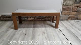 Coffee Table W/Laminate Top