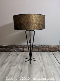 Iron Sputnick Mid Century High End Handmade Lamp
