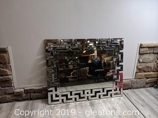 Modern Beveled Mirror Stunning Piece