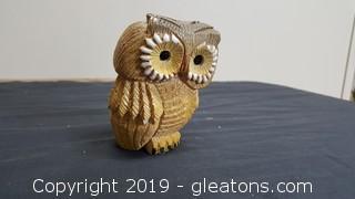 Artesania Rinconada Classic Owl Figurine Vintage