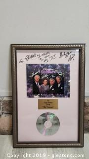 Signed By Vestal Goodman Of Happy Goodman Family