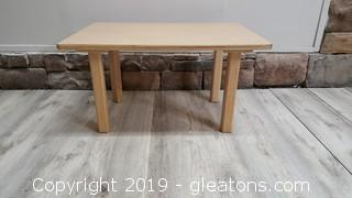Nursery Furniture Commercial Grade Child's Table