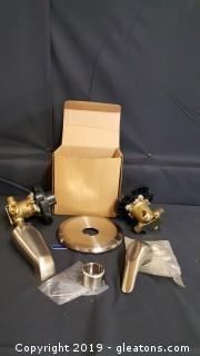 Price Pfister Brush Nickel Shower/Tub Shower Set
