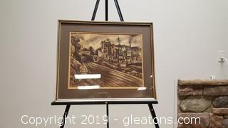 Original Impressionism Signed Kehary