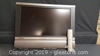 """26"""" Sharp HDTV HDMI Flat T.V. W/Remote"""