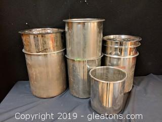 Box Lot Metal Containers