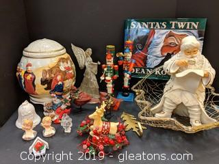 Box Lot Christmas Decor